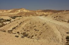 Free Negev Desert, Israel Royalty Free Stock Images - 17531889