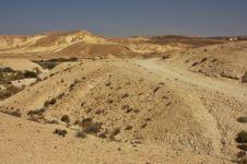 Free Negev Desert, Israel Royalty Free Stock Images - 17531889