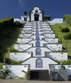 Free Little Church At Azores Islands Royalty Free Stock Photos - 17532718