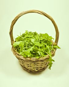 Free Basket Of Rocket Royalty Free Stock Photography - 17533557