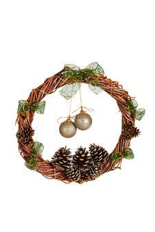 Free Christmas Wreath Royalty Free Stock Photo - 17534245