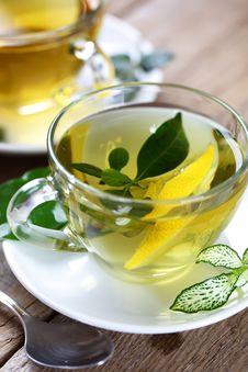 Free Green Tea Stock Image - 17535261