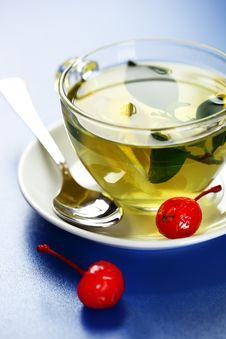 Free Green Tea Royalty Free Stock Photos - 17535278