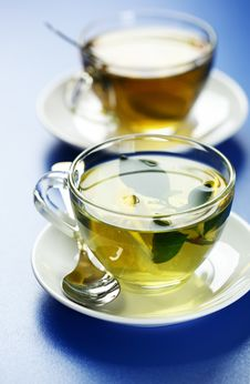 Free Green Tea Royalty Free Stock Photos - 17535288