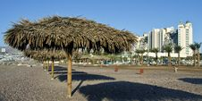 View On Resort Hotels In Eilat City, Israel Stock Image