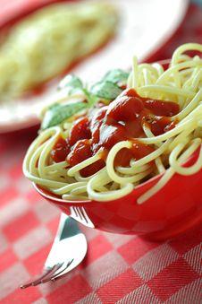 Free Spaghetti Stock Image - 17536181