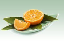 Free Mandarines Isolated Stock Images - 17536964