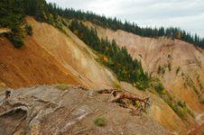 Free Erosional Landscape Royalty Free Stock Photos - 17537088