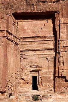 Free Petra , Jordan Royalty Free Stock Photography - 17537887
