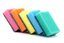 Free Kitchen Sponges Royalty Free Stock Image - 17538566