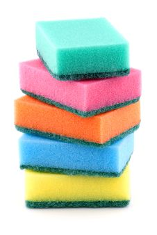 Free Kitchen Sponges Royalty Free Stock Image - 17538586