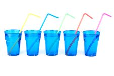 Free Plastic Glasses Isolated Stock Photo - 17538700