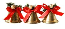 Free Three Christmas Bells Stock Photos - 17538933