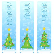 New Year Banner Stock Images