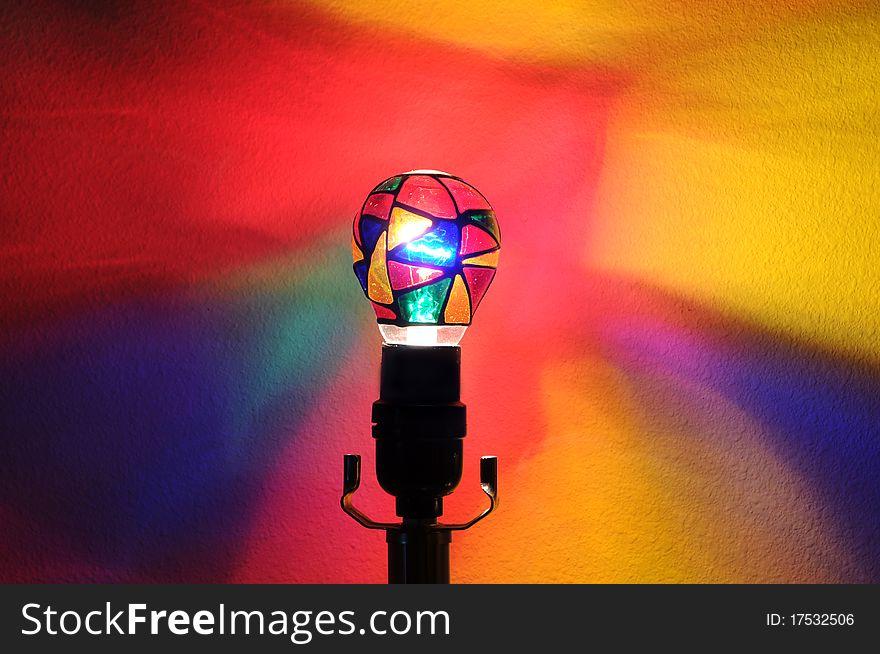 Rainbow Party Lightbulb