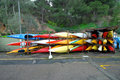 Free Canoes Royalty Free Stock Image - 17540756