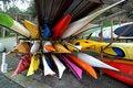 Free Canoes Royalty Free Stock Photo - 17540765