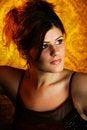 Free Beautiful Young Woman Headshot Royalty Free Stock Photography - 17545047