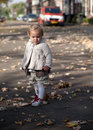 Free Child Is Playing In The Street Stock Photography - 17545342