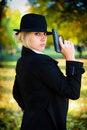 Free A Girl Holding A Gun. Royalty Free Stock Photo - 17546425