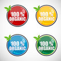 Free 100 Organic Buttons Royalty Free Stock Photography - 17548697