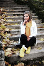 Free Autumn Stairs Stock Photography - 17548812