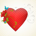 Free Abstract Valentine Card Stock Photo - 17548860