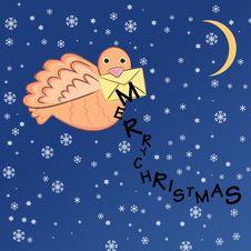 Free Christmas Bird Stock Photography - 17540212