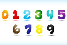 Free Numerical Text Royalty Free Stock Photo - 17541605