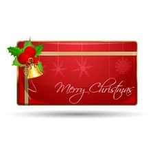 Free Merry Christmas Gift Stock Photography - 17541722