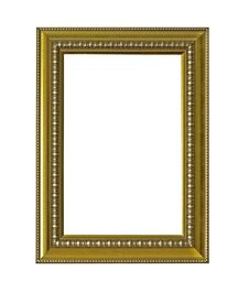Free Gold Classic Frame Isolate Royalty Free Stock Image - 17541976