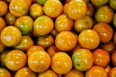 Free Fresh Orange In Market Royalty Free Stock Photography - 17543367