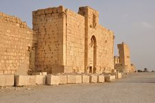 Temple Of Bel In Palmyra, Syria Royalty Free Stock Photography