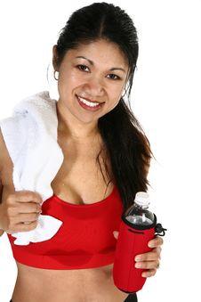 Free Fitness Attractive Filipino  Woman Stock Photography - 17544802