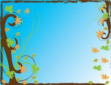 Abstract Flower Illustration Flower Spring Autumn Royalty Free Stock Photography