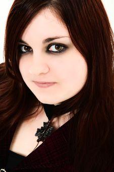Free Dramatic Teen Portrait Stock Photography - 17545172