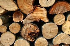 Free Stack Of Wood Stock Image - 17545191