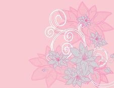 Free Abstract Flower Spring Illustration Stock Images - 17545274