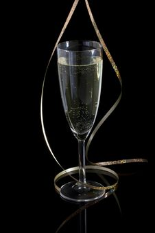 Free Glass Of Champagne Stock Photos - 17545693