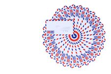 Free Airmail Envelopes Royalty Free Stock Photos - 17546398