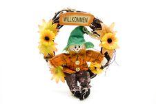 Free Door Wreath Stock Images - 17546594