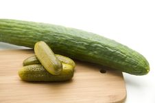 Free Gherkins Royalty Free Stock Photo - 17546925