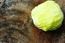 Free Green Cabbage Royalty Free Stock Photography - 17547337