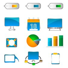 Free Business Icons Stock Image - 17548901