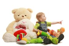 Free Boy & Toys Royalty Free Stock Images - 17549109