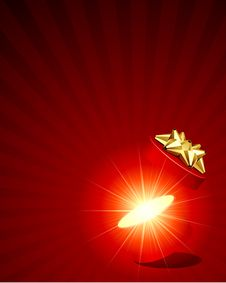 Free Open Explore Shiny Gift Stock Image - 17549571