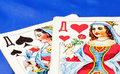 Free Two Playing Cards Stock Image - 17551751