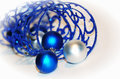 Free Close-up Blue Curling Ribbon Royalty Free Stock Photography - 17553237