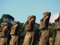 Free Moai On Easter Island Stock Images - 17555744