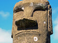 Free Moai On Easter Island Stock Images - 17555964